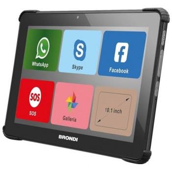 "BRONDI AMICO TABLET 10.1"" 3G WIFI BLACK 1GB 8GB"