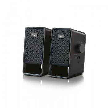 EW3504 Set di Altoparlanti Stereo 2.0 Speaker Compatti da 6 Watt