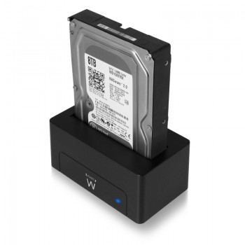 EW7012 Docking Station USB 3.1 per HDD/SSD SATA 2,5,3.5 pollici
