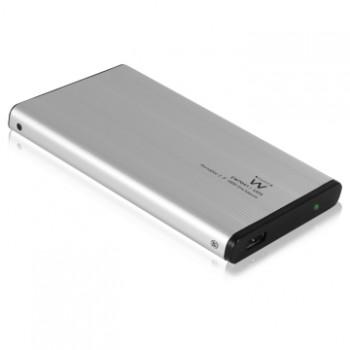"""EW7042 BOX IN ALLUMINIO PER HARD DISK IDE/PATA 2.5"""" (6.4mm e 9.5mm)"""