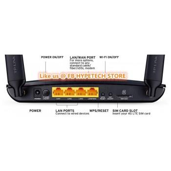 Tp-link MOD. TL-MR6400 modem router 4g con Sim