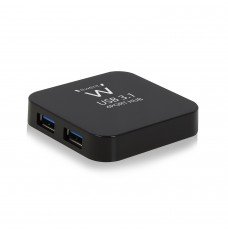 EW1134 HUB USB 3.1 Gen1 (USB 3.0) a 4 porte, alimentato