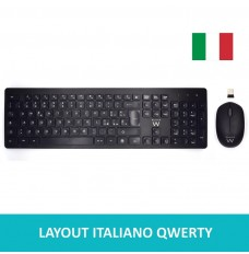 EW3255 Kit tastiera mouse wireless - Layout Italiano QWERTY