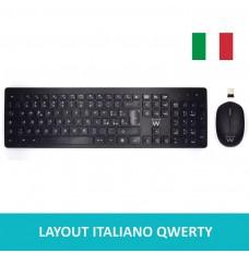 EW3255 Kit tastiera mouse wireless - Layout Italiano QWERTY
