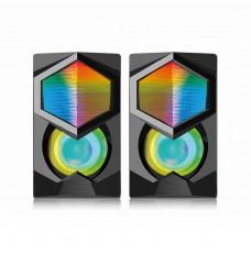 EW3524 Altoparlanti 2.0 Gaming RGB 12W