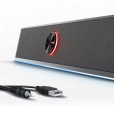 EW3525 SoundBar Gaming RGB con Bluetooth