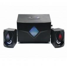 EW3526 Altoparlanti Gaming 2.1 Bluetooth, radio FM, USB / AUX / SD