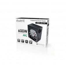 EW3905 ALIMENTATORE ATX2.3 600W CON PFC 4 SATA FAN 14CM PCI-e 6+2