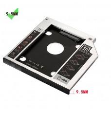 EW7003 Adattatore HDD/SSD SATA III per drive CD/DVD/Blu-Ray 9.5mm
