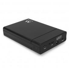 """EW7043 Box per due HDD/SSD SATA RAID da 2,5"""" senza viti USB 3"""