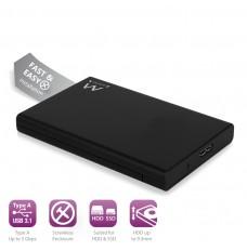 EW7044 Box per HDD/SSD SATA da 2.5 pollici USB 3.1 ,senza viti
