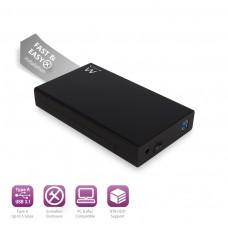 EW7056 Box per Hard Disk SATA da 3.5 pollici USB 3.1,senza viti