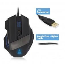 PL3300 Mouse Gaming USB con Led 3200DPI