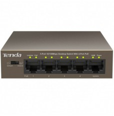 Tenda MOD. NT-G1105P-4-63W switch 5 porte 10/100/1000 Poe