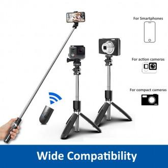 EW1080 Tripiede telescopico Bluetooth per Smartphone e Fotocamere