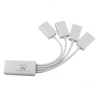 EW1110 HUB USB FLESSIBILE CON 4 PORTE