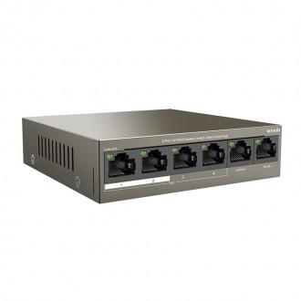 Tenda MOD. NT-TEF1106P-4-63W switch 4 porte 10/100 Poe